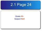 Go Math! Fourth Grade Chapter 2 SMART Response Homework Assessment