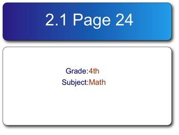Go Math! Fourth Grade Chapter 2 SMART Response Homework As