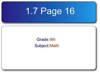 Go Math! Fourth Grade Chapter 3 SMART Response Homework Assessment