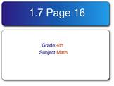 Go Math! Fourth Grade Chapter 4 SMART Response Homework Assessment