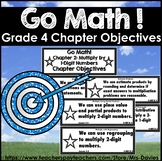 Go Math Fourth Grade Chapter Objctives