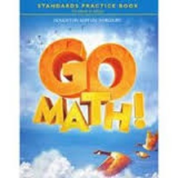 Go Math Fourth Grade ch 4 2015-2016