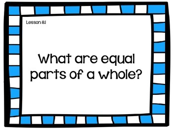 Go Math! Fractions Essential Question Posters