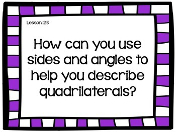 Go Math! Geometry Essential Question Posters