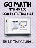 Go Math Goal & Data Tracking Notebook for the Google Classroom