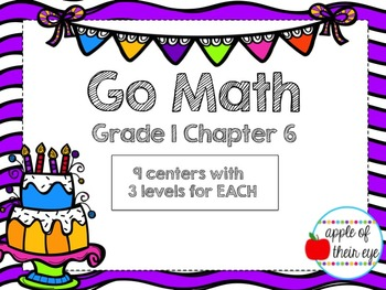 Go Math Grade 1 Chapter 6 Centers