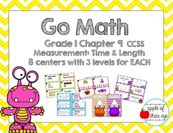 Go Math Grade 1 Chapter 9 (Differentiated) Centers