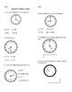 Go Math Grade 1 Chapter 9 Review Sheet