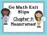 Go Math Grade 1 Exit Slips-Chapter 9