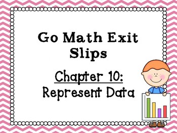 Go Math Grade 1 Exit Slips-Chapter 10