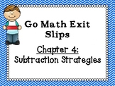 Go Math Grade 1 Exit Slips-Chapter 4