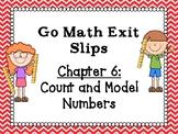 Go Math Grade 1 Exit Slips-Chapter 6