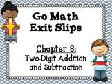 Go Math Grade 1 Exit Slips-Chapter 8