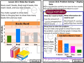 Go Math! Grade 2 Chapter 10: Data Strategies Reference Book