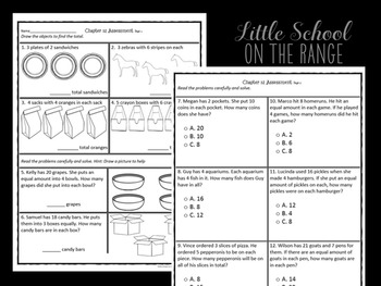 Go Math Grade 2: Chapter 12 Supplement - Multiplication and Division Concepts