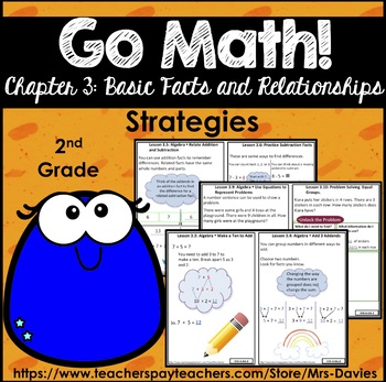 Go Math! Grade 2 Chapter 3: Basic Facts and Relationships