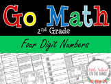 Go Math Second Grade:  Chapter 3 Supplement - Four Digit Numbers