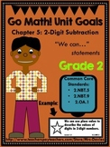 Go Math Grade 2 Chapter 5: 2-Digit Subtraction Chapter Goals Display