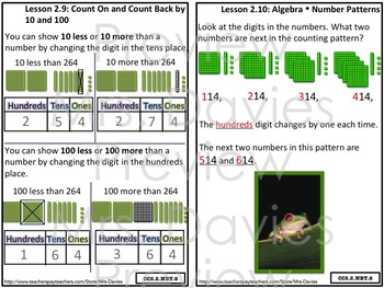 Go Math! Grade 2 Chapter 2: Numbers to 1,000 Strategies Reference Book