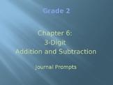 Go Math Grade 2 Chapter 6 Journal Prompts