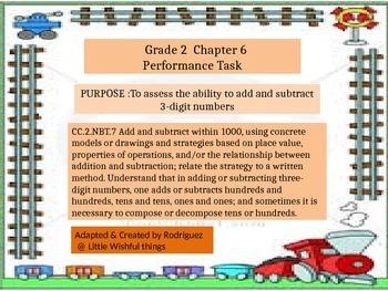 2nd Grade    Chapter 6 Math Performance Task