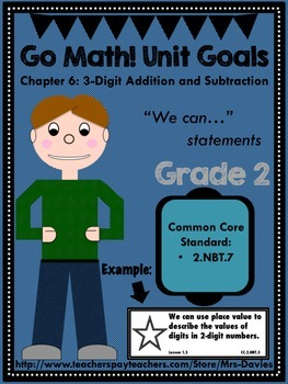 Go Math Grade 2 Chapter 6:3-Digit Addition and Subtraction