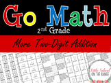Go Math Second Grade: Chapter 7 - Supplement More 2 Digit Addition