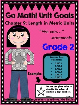 Go Math Grade 2 Chapter 9: Length in Metric Units Chapter