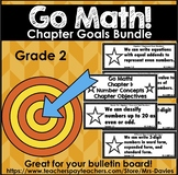 Go Math Grade 2 Chapter Goals Bundle