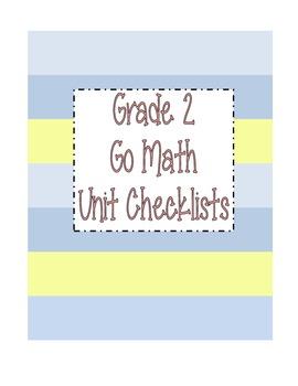 Go Math Grade 2 Checklists