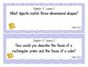 Go Math! Grade 2 Essential Questions - Chapter 11