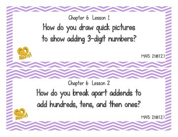 Go Math! Grade 2 Essential Questions - Chapter 6