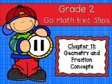 Go Math Grade 2 Exit Slips-Chapter 11