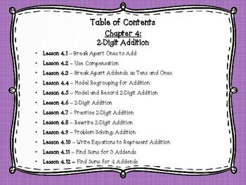Go Math Grade 2 Exit Slips-Chapter 4