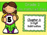 Go Math Grade 2 Exit Slips-Chapter 5