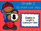 Go Math Grade 2 Exit Slips-Chapter 8