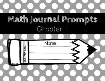Go Math 2012 Grade 2 Math Journal Prompts