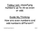 Go Math Grade 2 Objectives