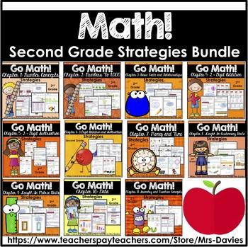 Go Math! Grade 2 Strategies Reference Book Bundle