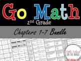 Go Math Second Grade: Unit 1 BUNDLE - Chapters 1 through 7