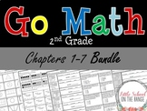 Go Math Second Grade: Unit 1 BUNDLE - Chapters 1 through 7