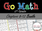 Go Math Second Grade: Unit 2 BUNDLE - Chapters 8 through 12