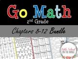 Go Math Second Grade: Unit 2 BUNDLE - Chapters 8 through 12