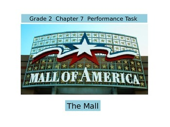 2nd Grade   Chapter 7 Math Performance task