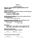 Go Math! Grade 3 Chapter 1 Section 1 Guided Notes