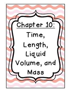 Go Math! Grade 3 Chapter 10 Vocabulary Cards