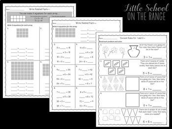 Go Math 3rd Grade: Chapter 11 Supplement - Division Strategies