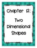 Go Math! Grade 3 Chapter 12 Vocabulary Cards