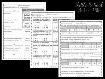 Go Math 3rd Grade: Chapter 14 Supplement - Algebraic Reasoning
