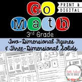 Go Math 3rd Grade: Chapter 15 - 2 Dimensional Figures and 3 Dimensional Solids